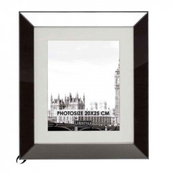 Rama foto neagra din MDF si sticla 34x39 cm Smoke L LifeStyle Home Collection