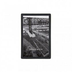Rama foto neagra din metal si sticla 10x15 cm Nora LifeStyle Home Collection