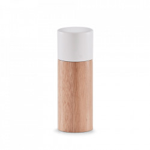 Rasnita maro/alba din lemn si ceramica pentru sare si piper Mill Zeller