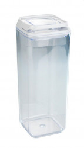 Recipient cu capac transparent/alb din polistiren si plastic 1,7 L Turin XL Wenko