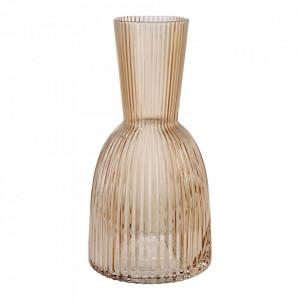 Recipient maro chihlimbar din sticla 12,4x24,6 cm Flos Bolia