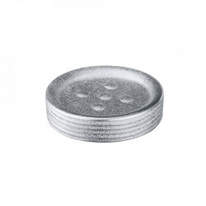 Savoniera argintie din ceramica 2,5x11 cm Polaris Dish Juwel Wenko