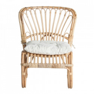 Scaun lounge maro din ratan Lipsko Vical Home