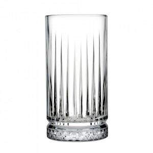 Set 12 pahare transparente din sticla 445 ml Elysia
