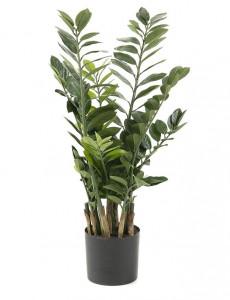 Set 2 plante artificiale in ghiveci din plastic 100 cm Flower Smarags La Forma