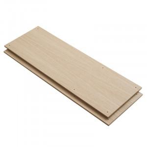 Set 2 rafturi maro din lemn de stejar Elevate D Woud