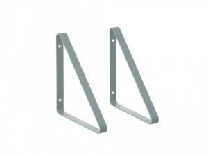 Set 2 suporturi din metal pentru raft Ollaj Dusty Blue Ferm Living