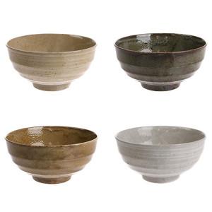 Set 4 boluri ceramice 16,8 cm Japanese Noodles HK Living