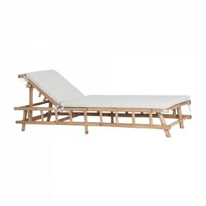 Sezlong maro din bambus Skikda Vical Home
