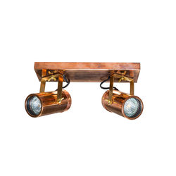 Spot cupru cu 2 LED-uri Scope-2 Copper Dutchbone