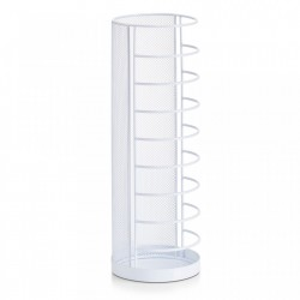 Suport alb din metal 40,5 cm pentru umbrela Mesh Stand White Zeller