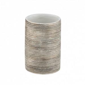 Suport auriu din ceramica pentru periuta dinti 8x11 cm Fedio Wenko