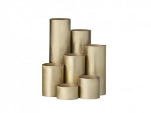 Suport auriu pentru pixuri din alama Multi Pencil Brass Ferm Living