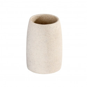 Suport bej din polirasina pentru periuta dinti 7,4x10,5 cm Goa Wenko