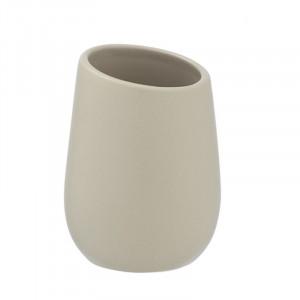 Suport crem din ceramica pentru periuta dinti 8x11 cm Badi Wenko