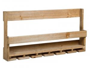 Suport din lemn de brad pentru sticle 80x11x40 cm Omla Santiago Pons