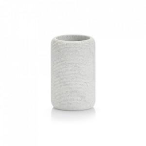 Suport gri din polirasina pentru periuta dinti 7,2x11,2 cm Living Tumbler Zeller