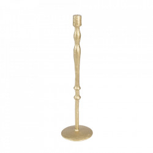 Suport lumanare auriu din aluminiu 67 cm Sento Dutchbone