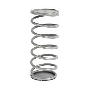 Suport lumanare gri argintiu din fier 26 cm Spiral Nordal