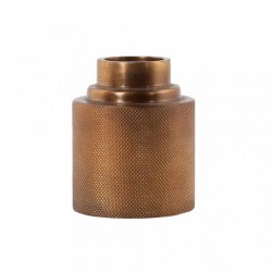 Suport lumanare maro alama din metal 10 cm Alessa Brass Small LifeStyle Home Collection