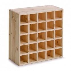 Suport maro din lemn de pin pentru sticle de vin Pine Wood Zeller