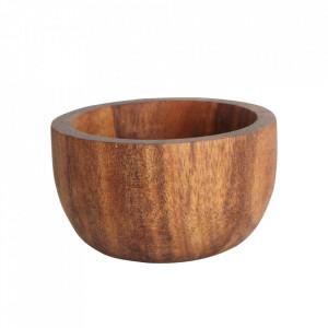 Suport maro din lemn de salcam pentru ou Nature House Doctor