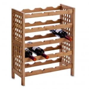 Suport maro din lemn pentru sticle Camelo Zeller