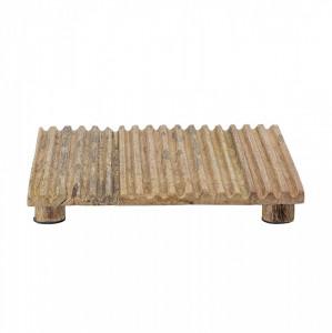 Suport maro pentru vase fierbinti din lemn de mango Mhata Bloomingville