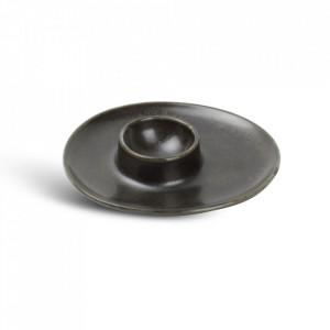 Suport ou negru din portelan Ceres Fine2Dine