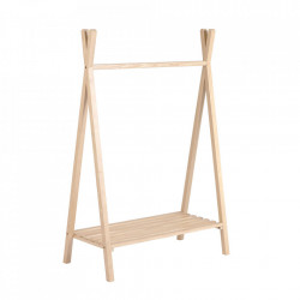 Suport pentru umerase maro din lemn de frasin Maralis Kave Home