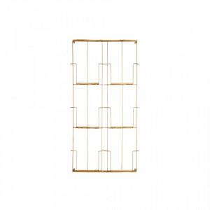 Suport reviste din fier si lemn pentru perete Andrew Madam Stoltz