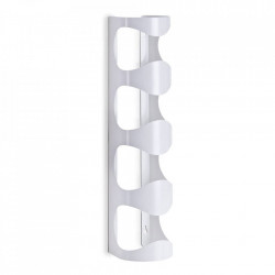Suport sticle alb din metal Wall Cage Zeller