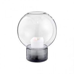 Suport transparent din sticla pentru lumanare 22,8 cm Growth Lantern Vase Large Bolia