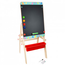 Tabla / Masuta din lemn Chalkboard Small Foot