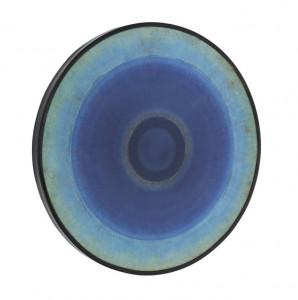 Tablou albastru din lemn 60 cm Olma La Forma