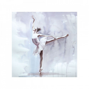 Tablou multicolor din canvas si lemn 80x80 cm Louis Unimasa