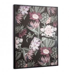 Tablou multicolor din lemn 60x90 cm Natures La Forma