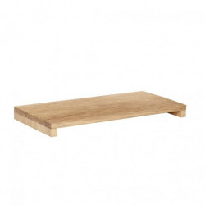 Tava dreptunghiulara maro din lemn 22x45 cm Ferguson Hubsch