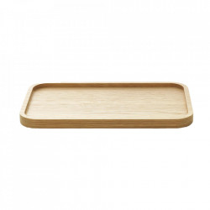 Tava dreptunghiulara maro din lemn de stejar 20x32 cm Astro Normann Copenhagen