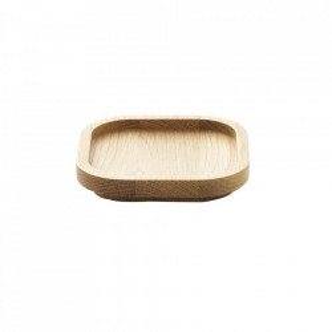 Tava patrata maro din lemn de stejar 12x12 cm Astro Normann Copenhagen
