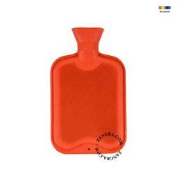 Termofor portocaliu din cauciuc 1 L Large Orange Briana Zangra