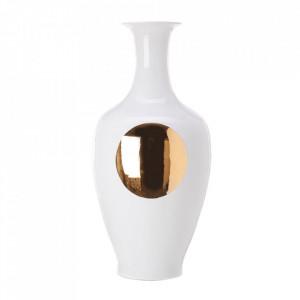 Vaza alba/aurie din portelan 90 cm Classic Pols Potten