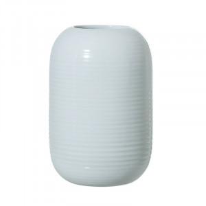 Vaza albastra din ceramica 16,5 cm Chita Bloomingville