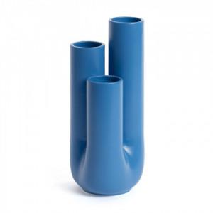 Vaza albastra din ceramica 29 cm Arantya Kave Home
