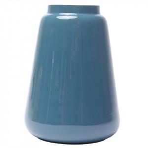 Vaza albastra din metal 19 cm Blue Zago