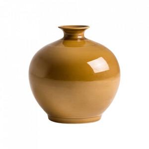 Vaza galben mustar din ceramica 36 cm Mostaza Vical Home