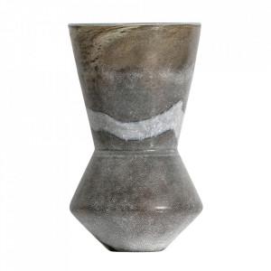 Vaza gri din sticla 33 cm Silhouet Be Pure Home