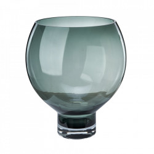 Vaza gri din sticla 40 cm Coupe Pols Potten