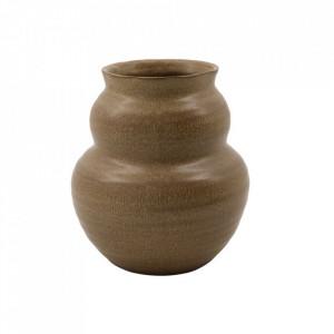 Vaza maro din lut 19 cm Juno House Doctor
