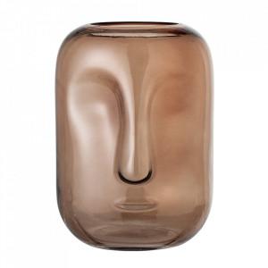 Vaza maro din sticla 25 cm Face Bloomingville